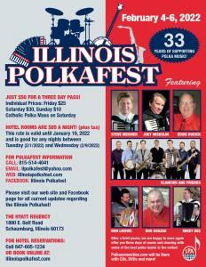 Illinois Polkafest 33 - February 4-6, 2022
